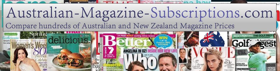 Australian Magazine Subscriptions